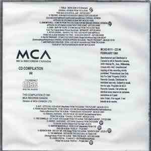 Various - MCA Records Canada - CD Compilation #4 download free